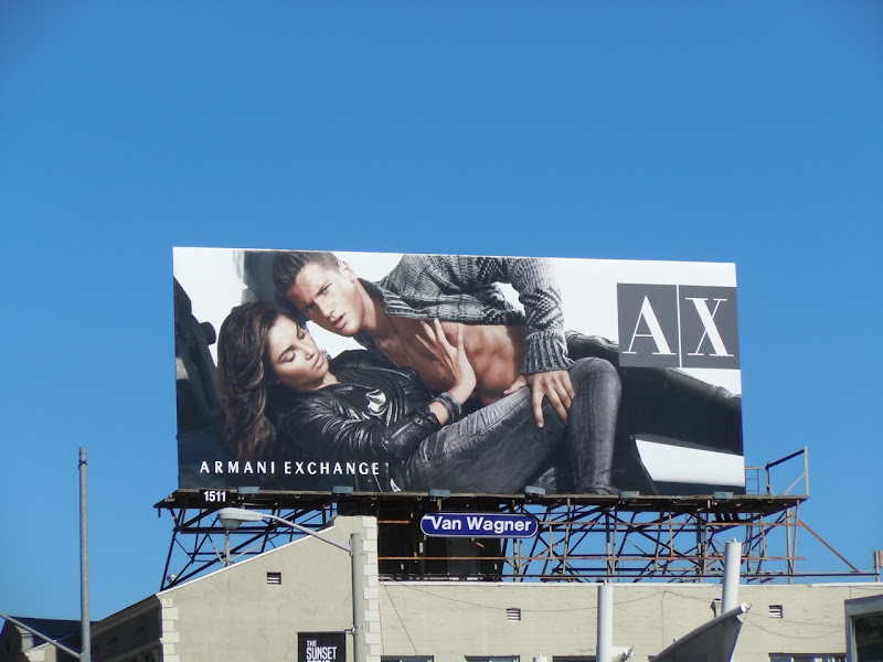 Armani Exchange Holidays 2010 billboard