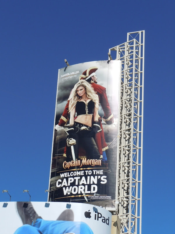 Captain Morgan Marissa Miller billboard