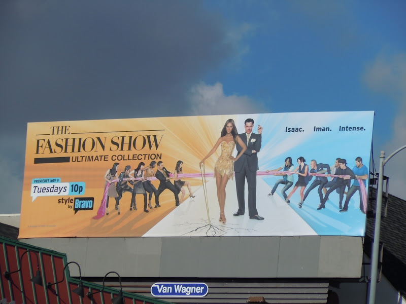 The Fashion Show season 2 billboard