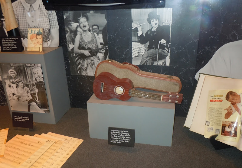 Lucille Ball Ukulele display