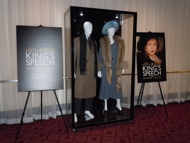 The King's Speech costume exhibit