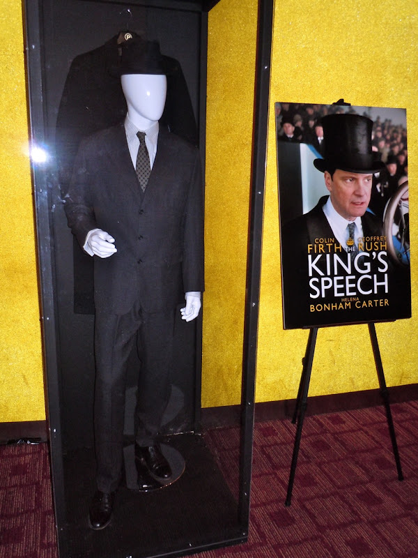 Colin Firth King's Speech movie costume