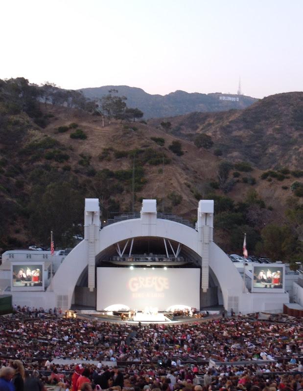 Singalong Grease Hollywood Bowl