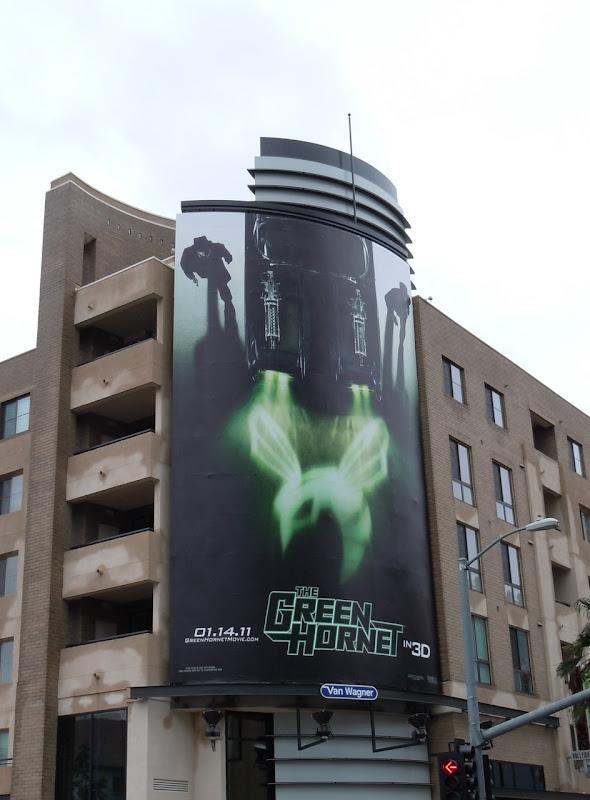 Green Hornet movie billboard