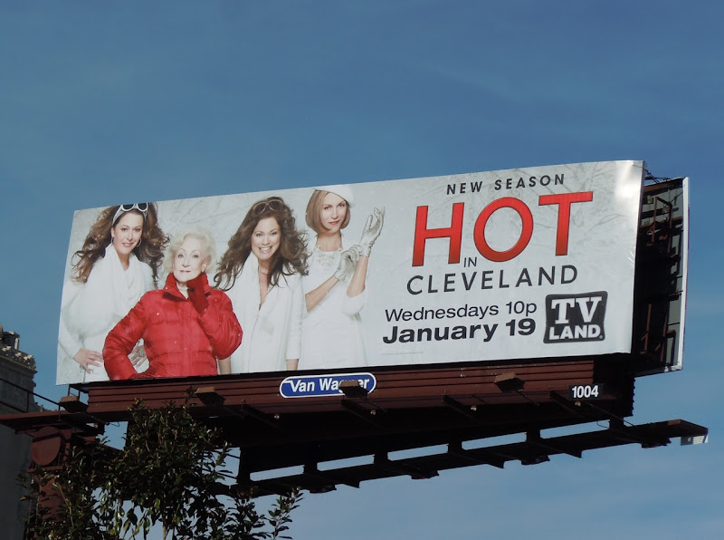 Hot in Cleveland season 2 TV billboard