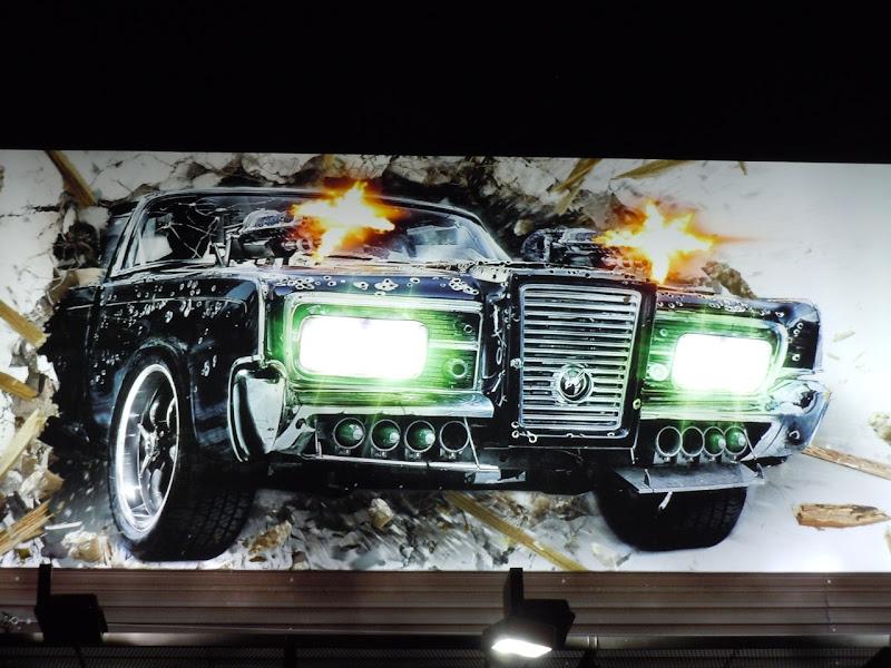 Green Hornet Black Beauty billboard