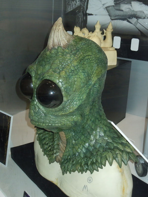 Prosthetic Sleestak mask Land of the Lost