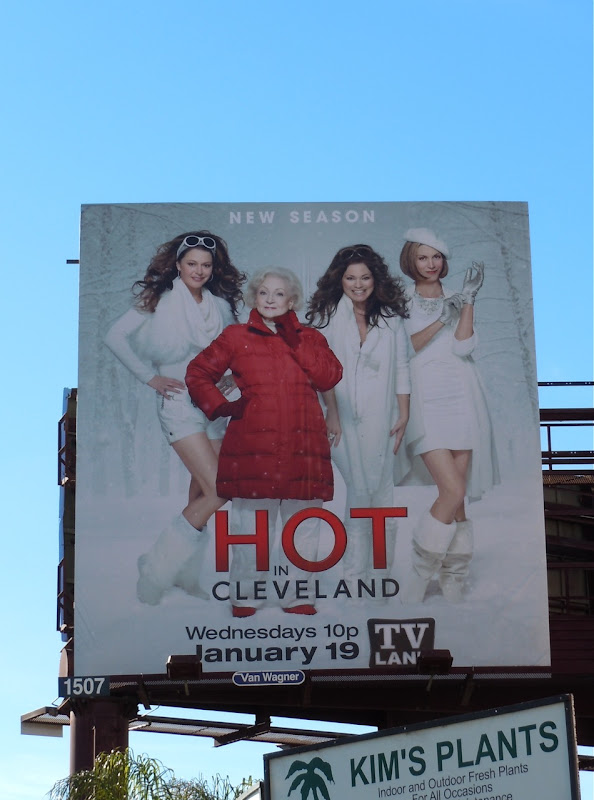 Hot in Cleveland season 2 billboard