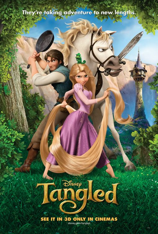 Disney's Tangled poster