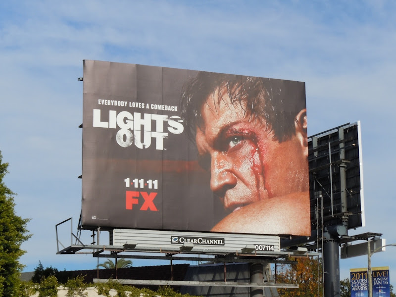 Lights Out TV billboard