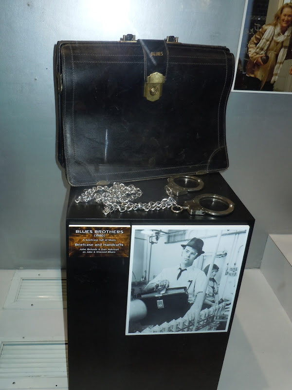 The Blues Brothers briefcase and handcuff props