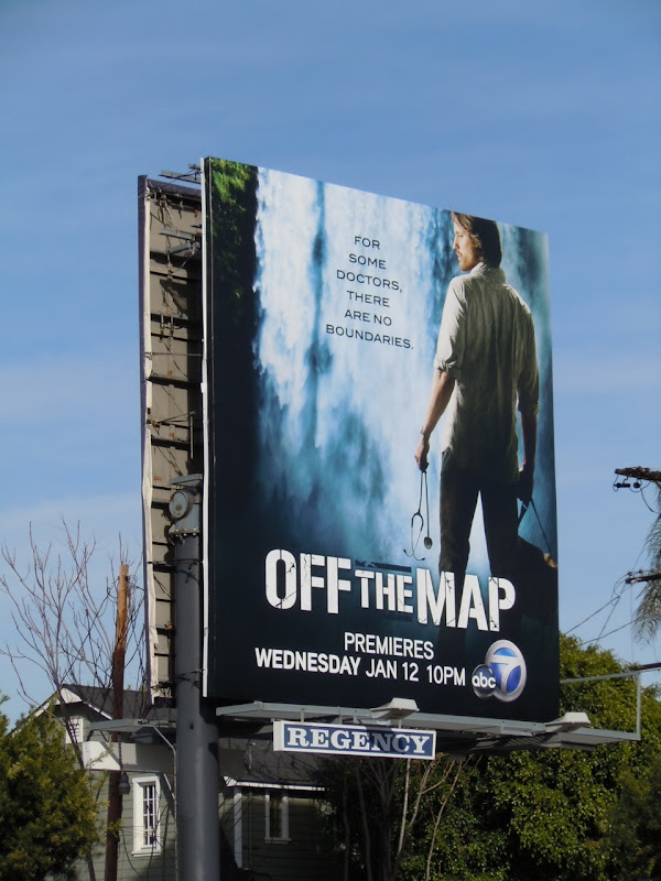 Off The Map TV billboard