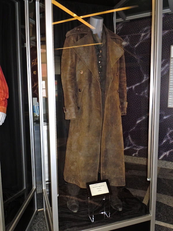 Horvath' and 'Morgana le Fay'. Original costume worn by Nicolas Cage as