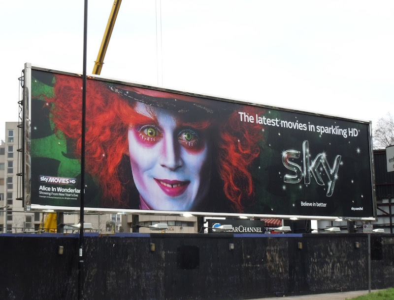 day sky images. SKY Mad Hatter movie billboard