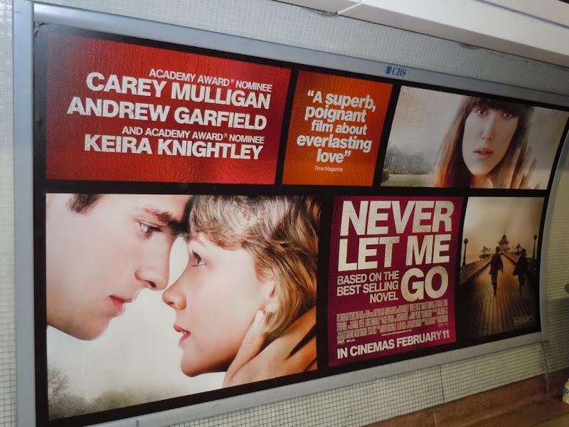 Never Let Me Go UK billboard