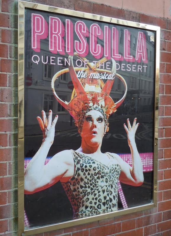 Priscilla Musical poster