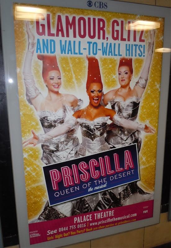Priscilla Musical tube poster