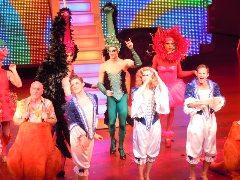Priscilla Queen of the Desert Musical London cast