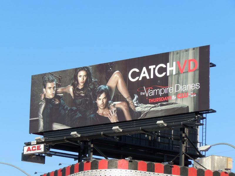Catch VD Vampire Diaries billboard