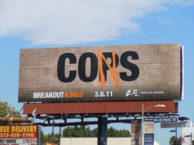 Breakout Kings TV billboard