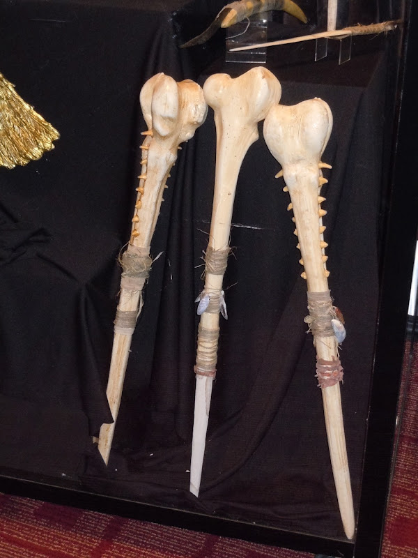 The Eagle movie bone club props