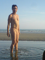 naturist, nudist, clothes optional, naked, nudist beach, Shoreham, nudist man, nudist boy