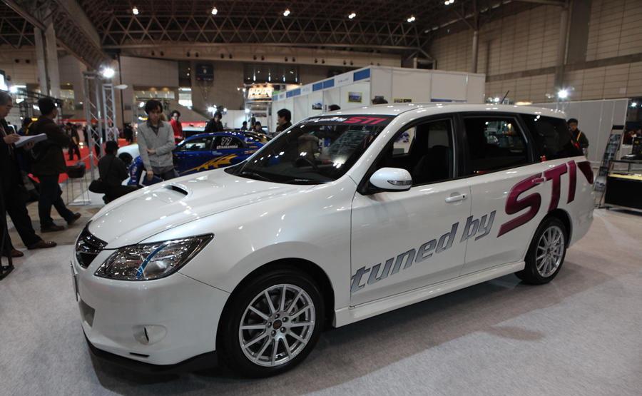 America And All Worlds Car 2010 Subaru LegacyExiga Wagon STI