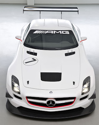 2011 Mercedes SLS AMG GT3