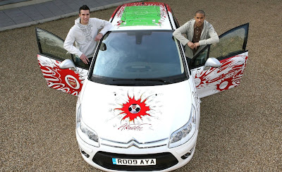Citroen C4 Aresenal Fan Car