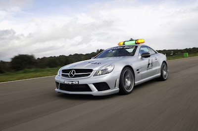 Mercedes SL 63 AMG Official F1 Safety Car 2009