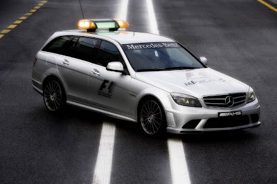 2009 Mercedes C63 AMG Official F1 Medical Car