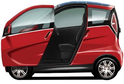 Lotus City Car Concept Design