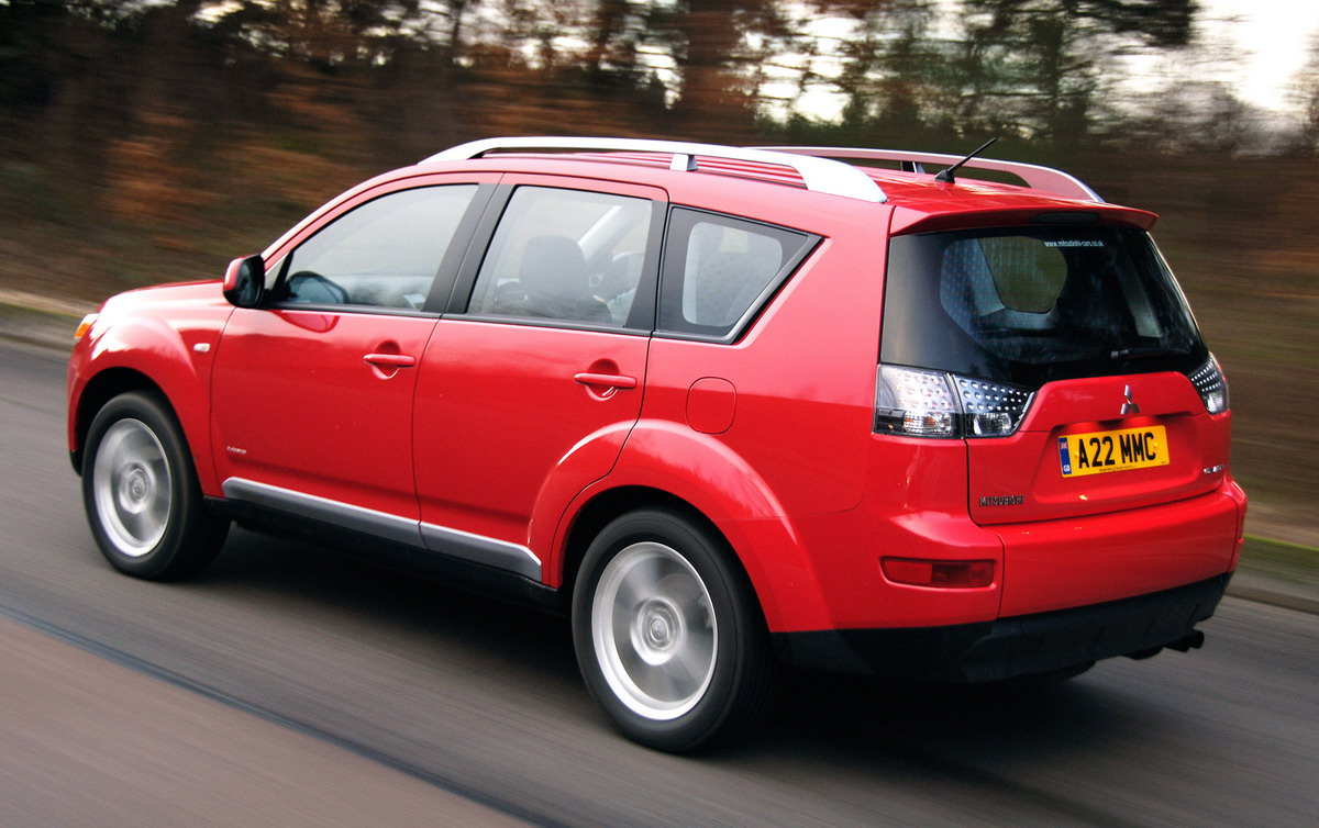 latest car photos 2009 mitsubishi outlander price uk. Black Bedroom Furniture Sets. Home Design Ideas