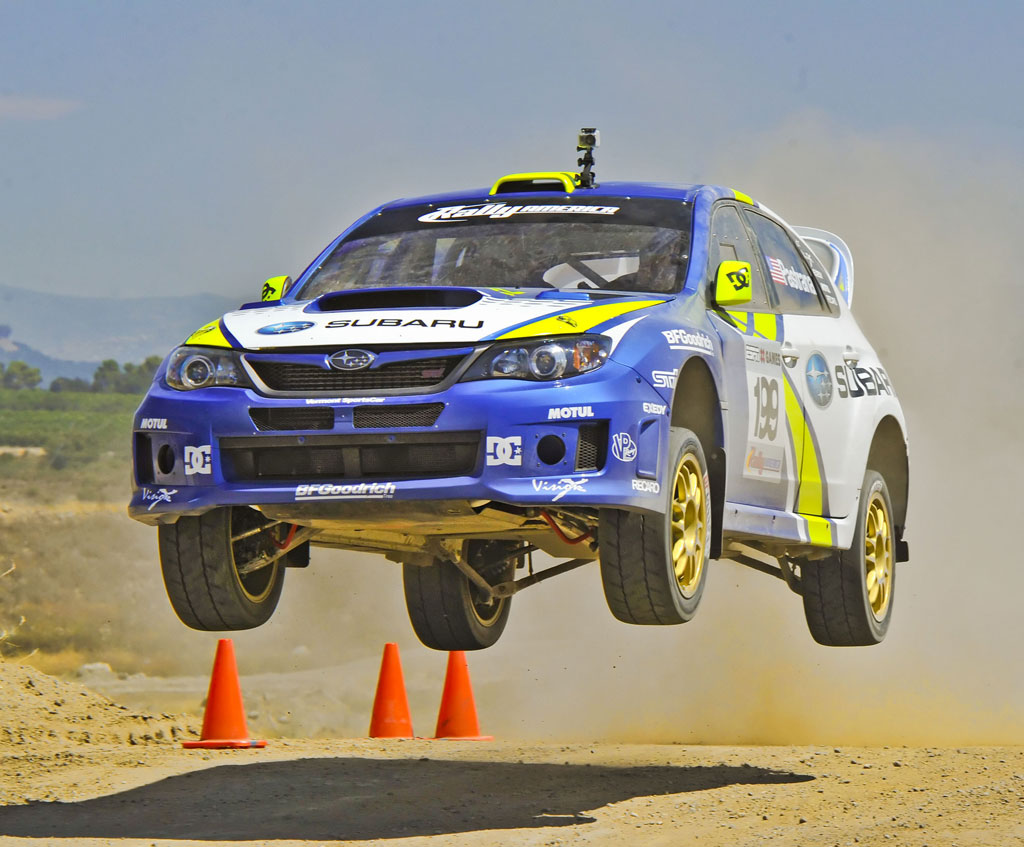 Impreza WRX STI rally cars