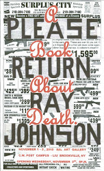 Ray Johnson and ABAD Poster <br>by Keith Buchholz