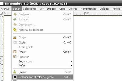 Efecto Fractal, Wallpapres con el GIMP Flama4