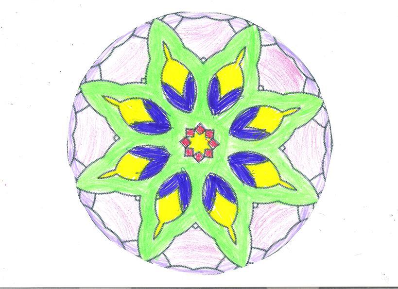 La Mandala Estrella on Mandalas Imagenes