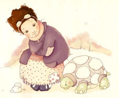 Momo y su tortuga