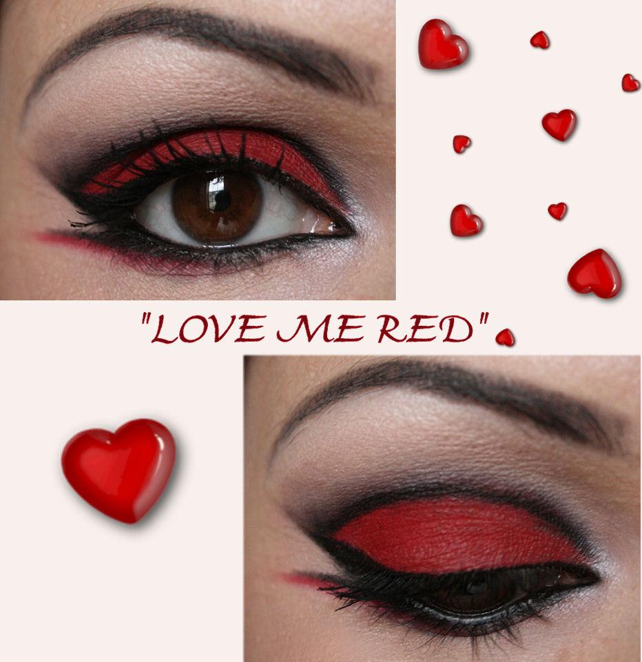 Make Up Artist Me Love Me Red Make Up Tutorial