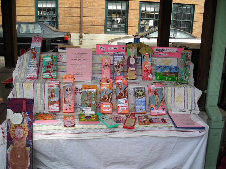 My wares at 17th Street Market