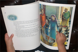 Interior shot of Princess Stinky Toes book.