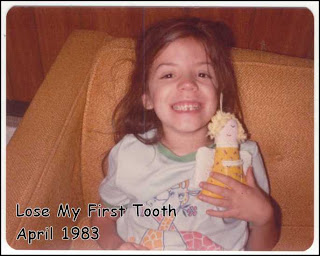 Lost my first tooth.