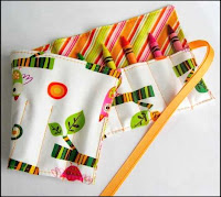 Full sized crayon roll from My Sunshine Designs