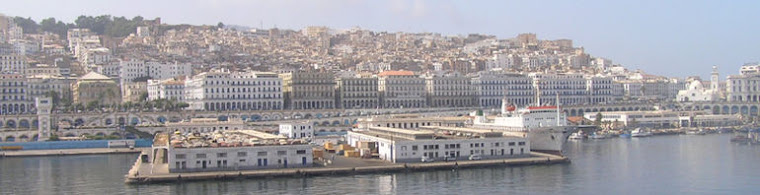 阿尔及利亚合作的欧洲商业中心的海军拱门