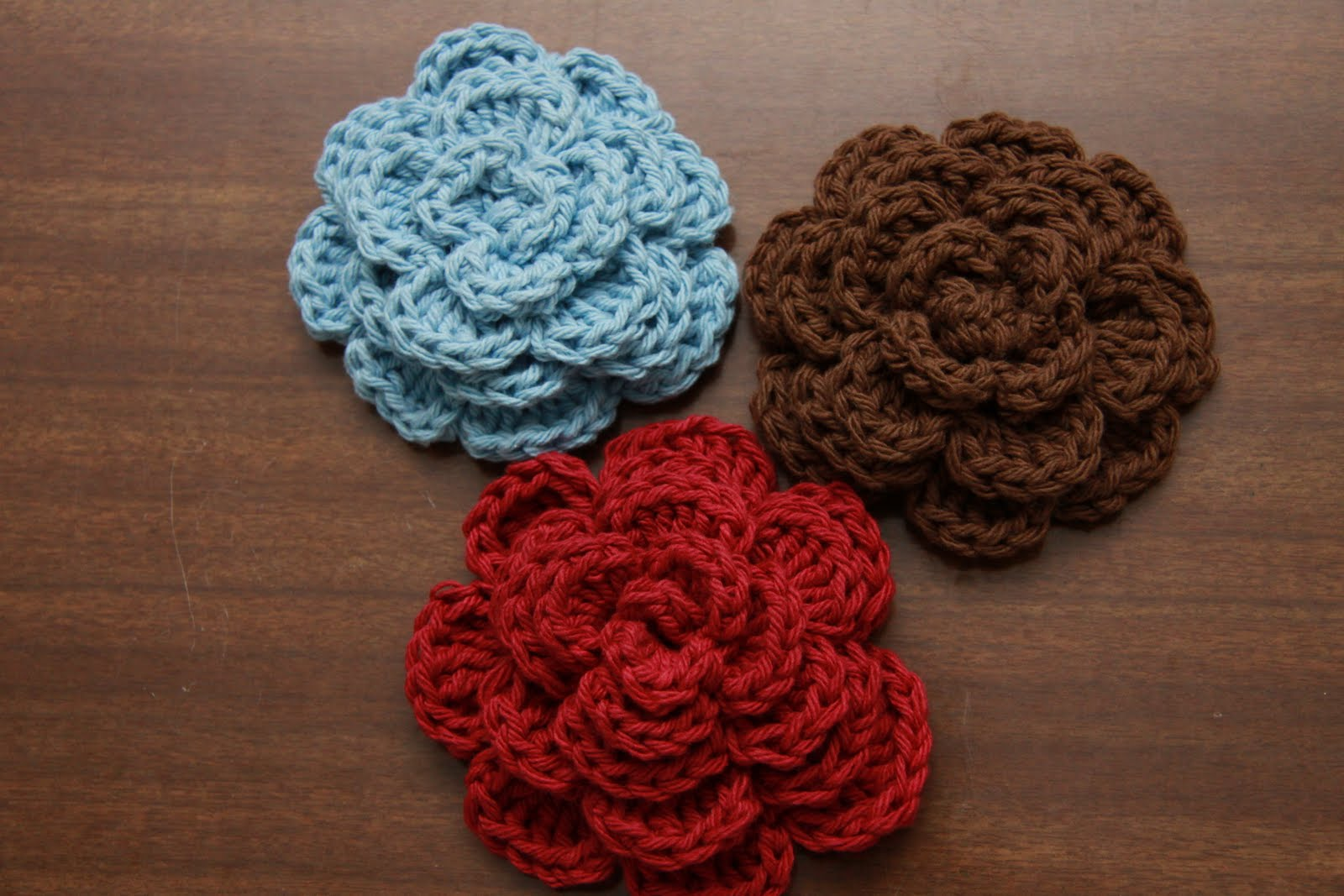 Crocheting Accessories : Crazy 4 Crafting: Crochet Hair Accessories