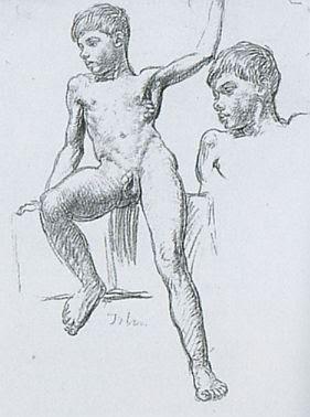 boy art nude