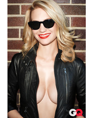 January Jones GQ Magazine