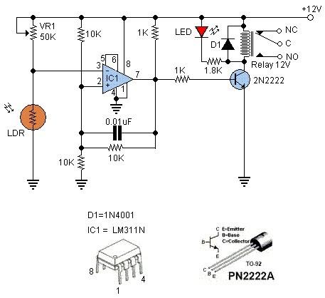 Interruptor De Luz Activado