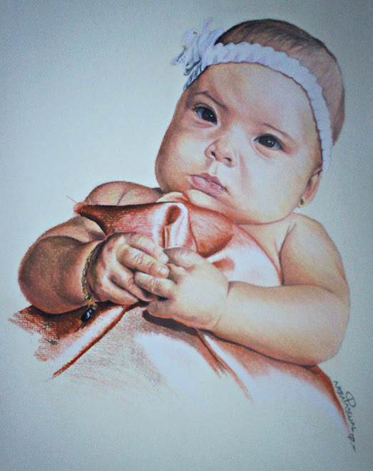 Bebé en pastel