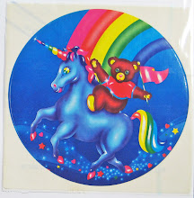 80&#39;s Jumbo Lisa Frank Sticker